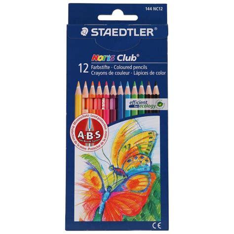 staedtler colored pencils staedtler noris club coloured pencils 12 pack big w