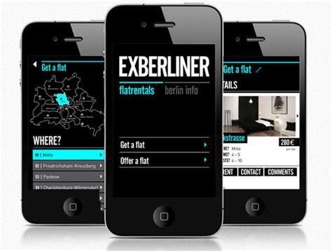 mobile layout exles use of flat design in mobile app interfaces best exles