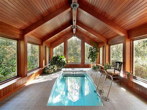 Inexpensive bedroom decorating ideas, small indoor swimming pool indoor swimming pools house