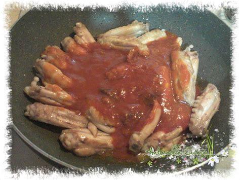 anto nella cucina ali di pollo al sugo il mondo di anto nella cucina