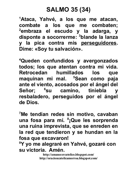 imagenes salmo 35 salmo 35 oracion