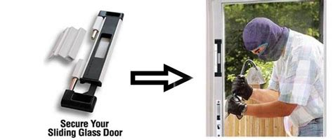 Sliding Patio Door Locks With by How To Secure Sliding Glass Doors Northriding Mobile