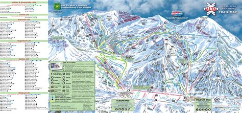 map of us ski area alta ski area piste map plan of ski slopes and lifts