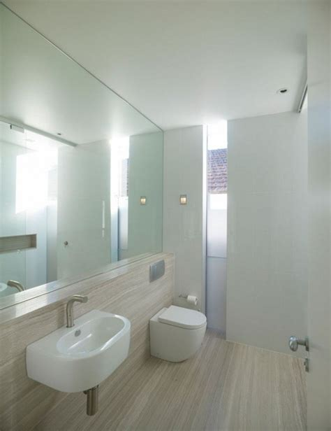 full wall bathroom mirror two story contemporary waving home starr residence in