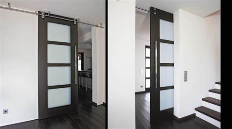 Frosted Glass Sliding Barn Door 17 Best Images About Barn Style Doors On Sliding Barn Doors Industrial Door And