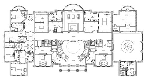 floor plans mansions mega mansion floor plans