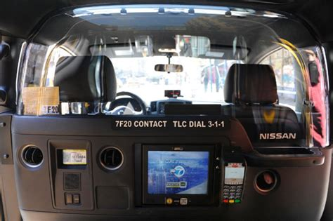 Taxi Interior by Taxi Of Tomorrow Begun Hitting The Streets Ny Daily