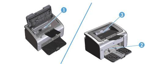 Pinset Hp mengatasi paper jam hp laserjet pro 1102 dan p1102w