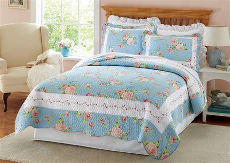 vintage flower pattern quilt blue ridge vintage floral pattern quilt ebay