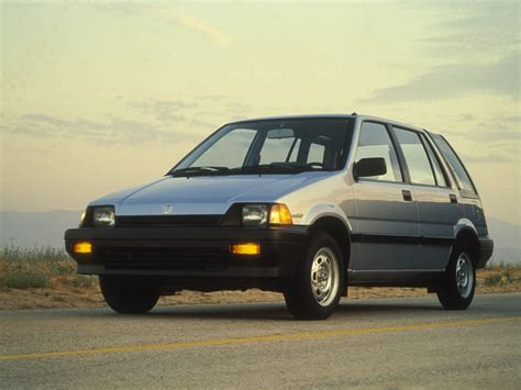 honda civic wagon 1985 pictures information amp specs