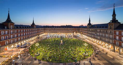 home design plaza mayor madrid s plaza mayor turned into a park for 4 days by