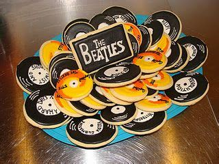 gifts for beatles fans beatles records cookies gift idea for a beatles fan