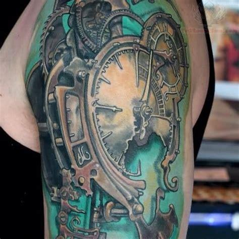 28 gears and broken clock tattoos pinterest the