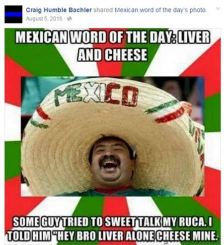 Mexican Guy Meme - trump official shared offensive anti mexican meme fusion