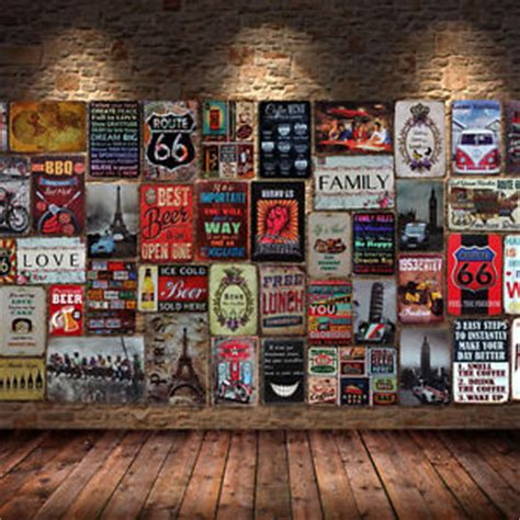 wall decor for home bar retro metal tin sign poster plaque bar pub club cafe home