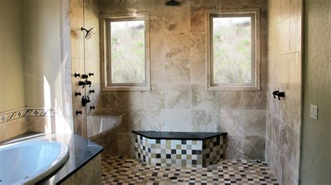 Bathroom Ideas Gray by Large Custom Home With Porcelain Tile And Natural Stone