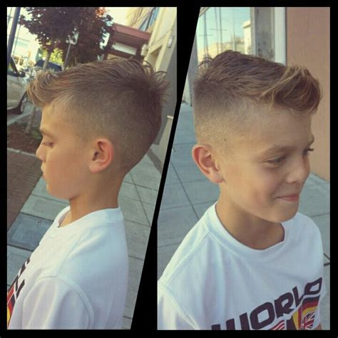 haircuts games for boy faux hawk boys hairstyle just in time for his soccer