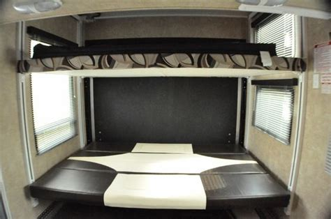 that folds into bunk bed coolest bunks rv hauler and the bottom bunk