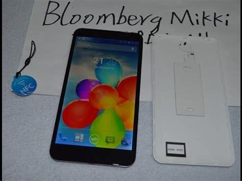 nfc function test in umi cross c1 6 44 quot smart phone