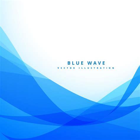 blue wave background clean blue wave background design illustration