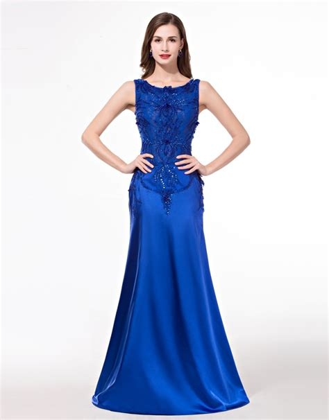 dress design royal blue aliexpress com buy long dress party evening elegant 2016