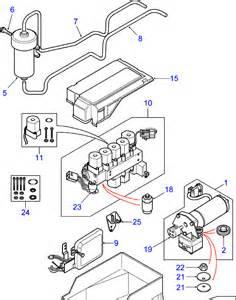 range rover p38 air suspension valve block solenoid 1995 to 2002 ebay