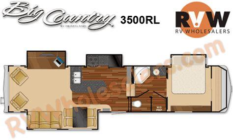 big country rv floor plans 2009 heartland rv big country 3500rl fifth wheel the