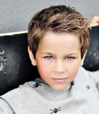boys haircut for double crown 2015 little boy layered hairstyle with layered side bangs jpg