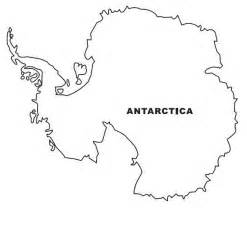 Free Map Of Antarctica Coloring Pages