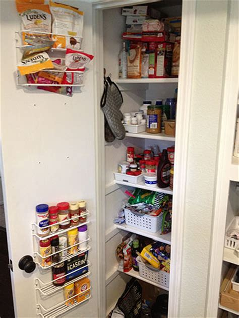 Small Space Pantry Small Pantry Organization 25 Free And Cheap Ideas To