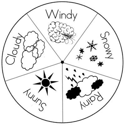 coloring pages weather preschool 59 best weather theme images on pinterest kids education