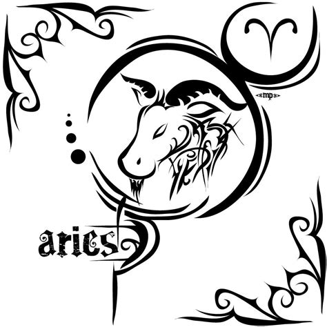 Aries Tattoos Designs Ideas And Meaning Tattoos For You Tattoos Of Horoscope Signs