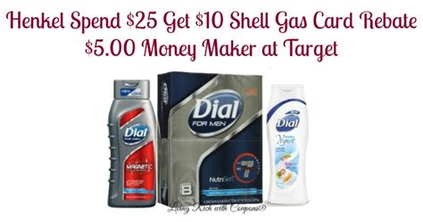 Shell Gas E Gift Card - henkel gas rebate spend 25 get 10 shell gift card rebate living rich with coupons 174