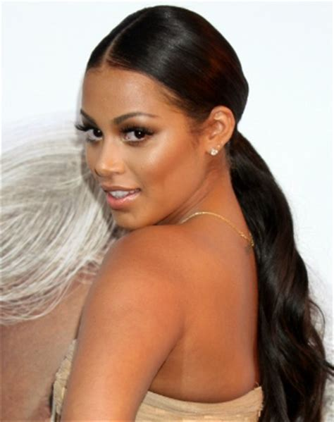 Lauren London:Girls Crushes, Low Ponytail, Google Search