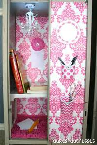 Cool Diy Home Decor Locker Decorating Ideas Dukes And Duchesses