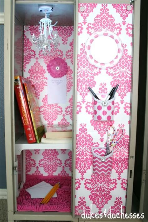 Magnetic Chandelier Locker Decorating Ideas Dukes And Duchesses