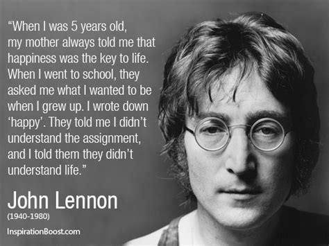 john lennon biography for students corporate career quotes for reflection great business