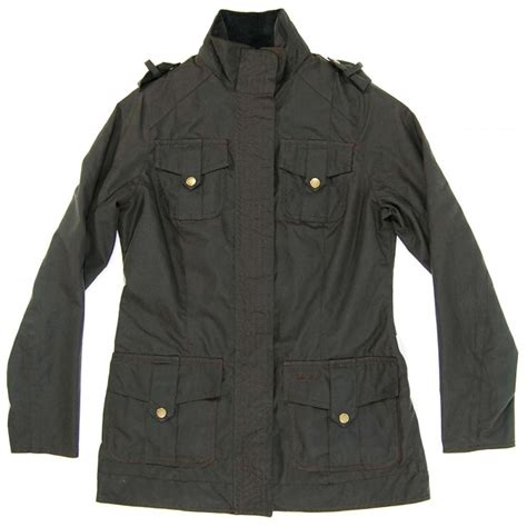 barbour jacket barbour defence jacket olive womens jackets from attic clothing uk