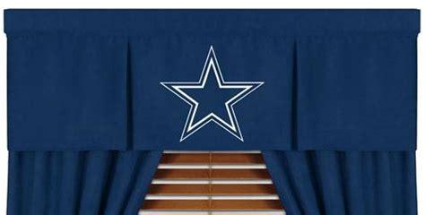 Dallas Cowboys Drapes Dallas Cowboys Mvp Window Valance 1