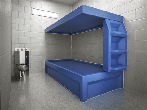 prison bed space saver bunk