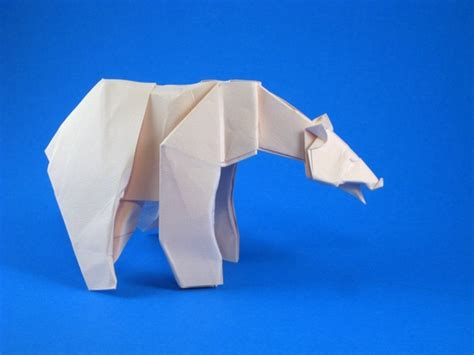Origami Polar Folding - origami polar by quentin trollip folded from a square