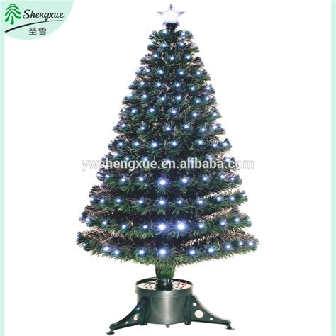 small fiber optic christmas tree elegant musical fiber