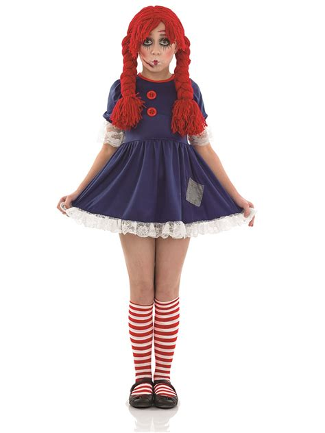 rag doll costume child scary rag doll costume fs3949 fancy dress