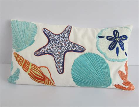 Coastal beach nautical pillows tropical home decor other metro by comfy heaven pillows