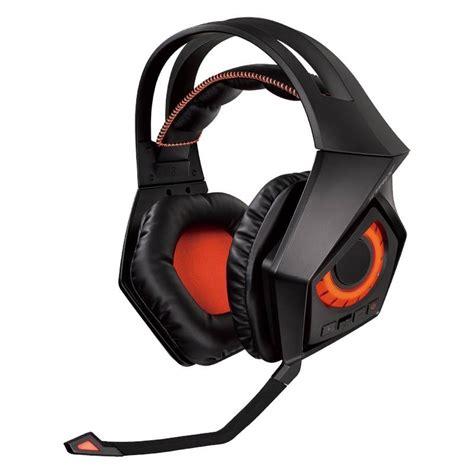 Asus Rog Strix 7 1 Gaming Headset asus rog strix wireless 2 4ghz wireless 7 1 surround sound