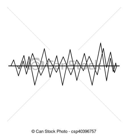 drawing a basic wave can be but after a while it can sound wave icon simple style sound wave icon in simple