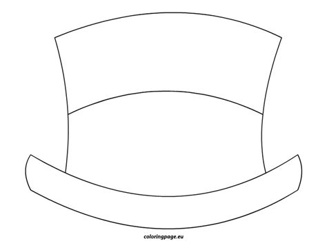 best photos of snowman hat outline winter hat template
