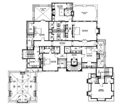 large ranch home plans large ranch style house plans