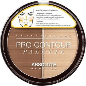 Make Up Absolute New York teint pro contour palette absolute new york parfumdreams