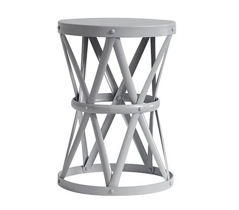 Jardan Side Table Pottery Barn Metal Side Table Copycatchic